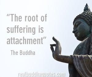 Buddha, life, and suffering image