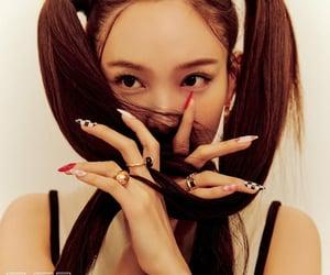 magazine, model, and wkorea image