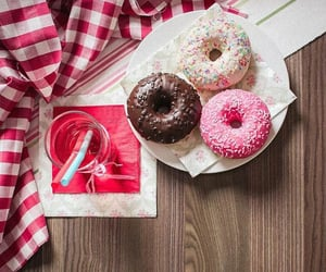chocolate, donuts, and white image