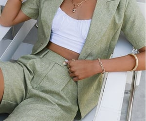 blazer, style, and matching set image