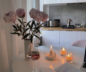 home, aesthetic, and candles image
