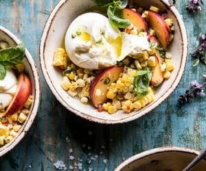 cheese, peach, and vegan image
