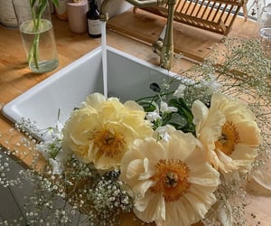 flowers, aesthetic, and home image