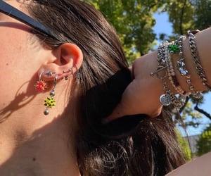 aesthetic, earrings, and jewellery image