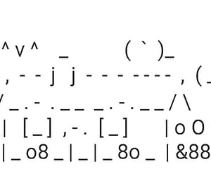 archive, art, and ASCII image