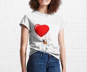 love tshirt, fashion, and female image