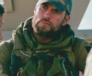 soldier and Henry Cavill image