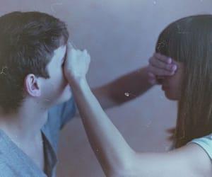 blindfold, boy, and film image