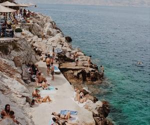 bikini, Greece, and Island image