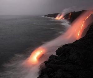nature, ocean, and dark image