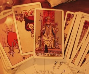 astrology, tarot, and witch image