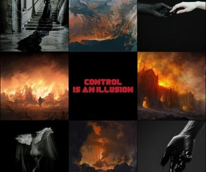 destruction, mood board, and aesthetic image
