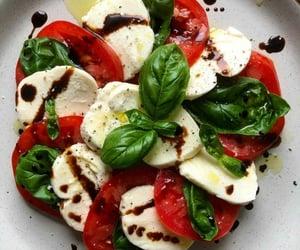basil and tomato image