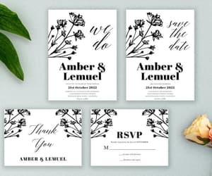 wedding suite, wedding set, and printed design image