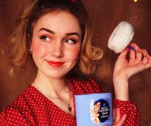 1950, girl, and mood image