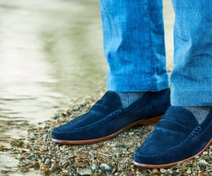 loafers, penny loafers, and black loafers image