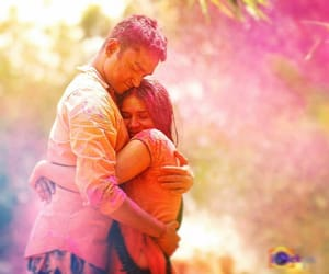 happy holi wishes for her image