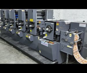 video, label printing, and label printing machine image