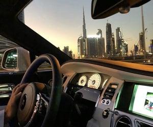car, city, and Dubai image