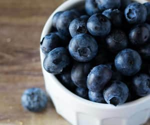 blueberries, blueberry, and fitness image