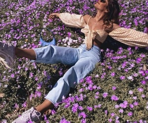 fashion, flowers, and flores image