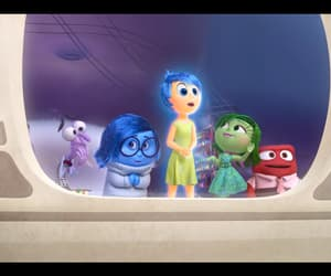 disney, emotion, and inside out image