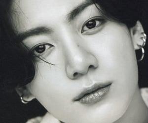 black, korean, and jungkook image
