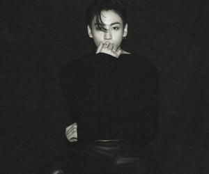black, korean, and jk image