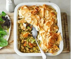 pesto, leeks, and butternut squash image