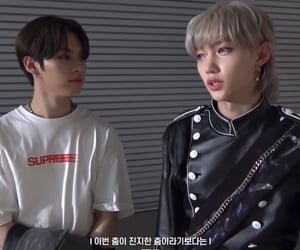 felix, lee know, and stray kids image