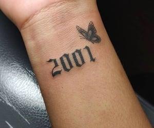 2001, art, and butterflies image