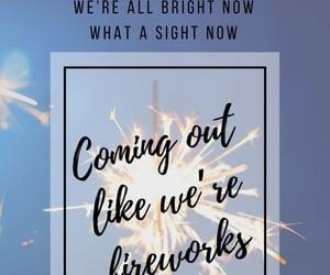 fireworks, Lyrics, and music image