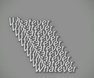whatever, words, and wallpaper image