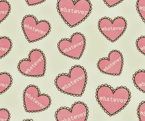 hearts, wallpaper, and pattern image