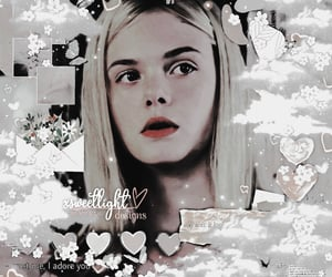 Elle Fanning, theme, and complex image