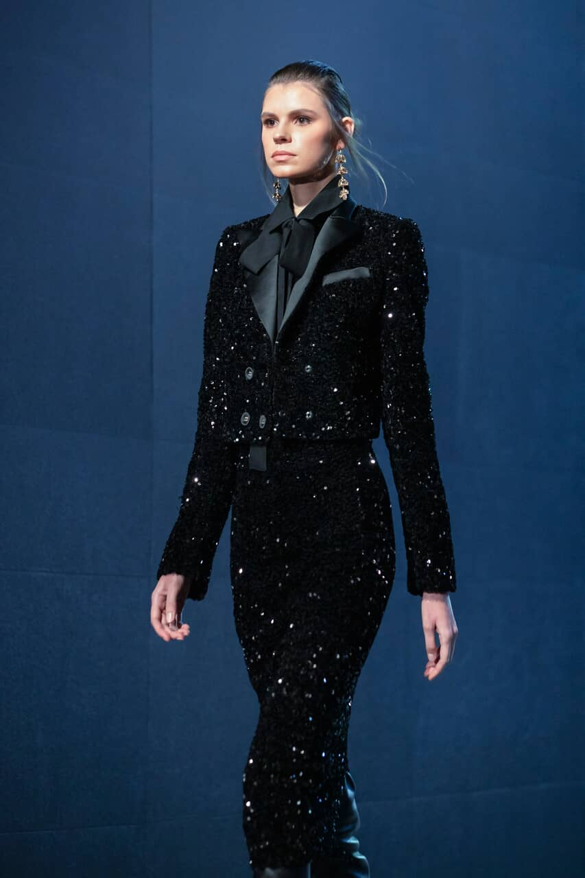 Couture, model, and elie saab image