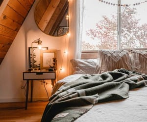 bedroom, home decor, and photography image