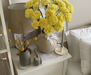 gorgeous, flowers, and yellow image