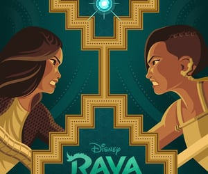 disney, posters, and raya and the last dragon image