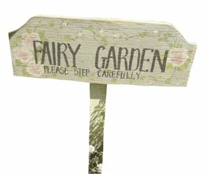 fairy, png, and fairy garden image