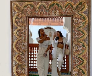 fashion, marrakech, and mirror image