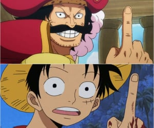anime, luffy, and monkey d. luffy image