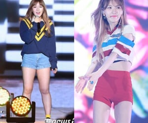 before and after, dainty, and pretty girl image