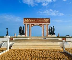 memorial, africa, and beach image