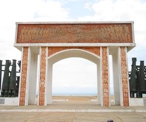 africa, beach, and landmark image
