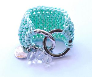 charms, mint, and glass image