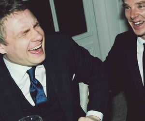 Martin Freeman, sherlock, and the hobbit image