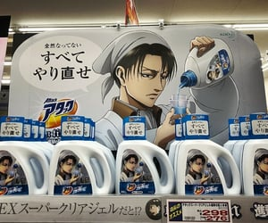 levi, ackerman, and funny image