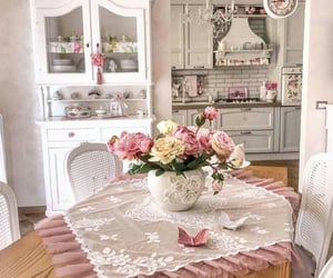cocina, hogar, and sweet home image