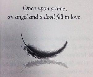 Devil, angel, and love image